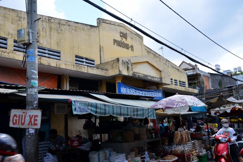 Cổng chợ Bà Hoa