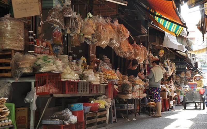 Những đặc sản miền Trung bên trong chợ