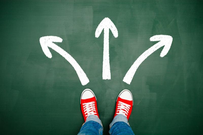 Cho bản thân ít sự lựa chọn khi bạn không thể quyết định