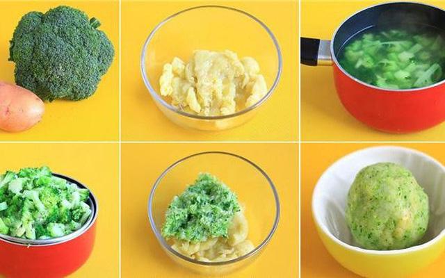 Hãy cho con ăn các thức ăn riêng biệt để nhận biết mùi vị của chúng