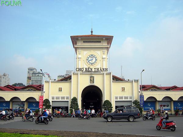 Cửa nam chợ Bến Thành