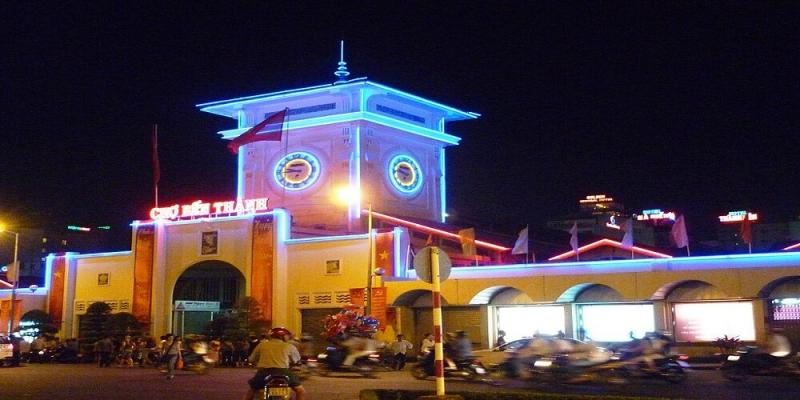 Chợ Bến Thành (nguồn: Internet)