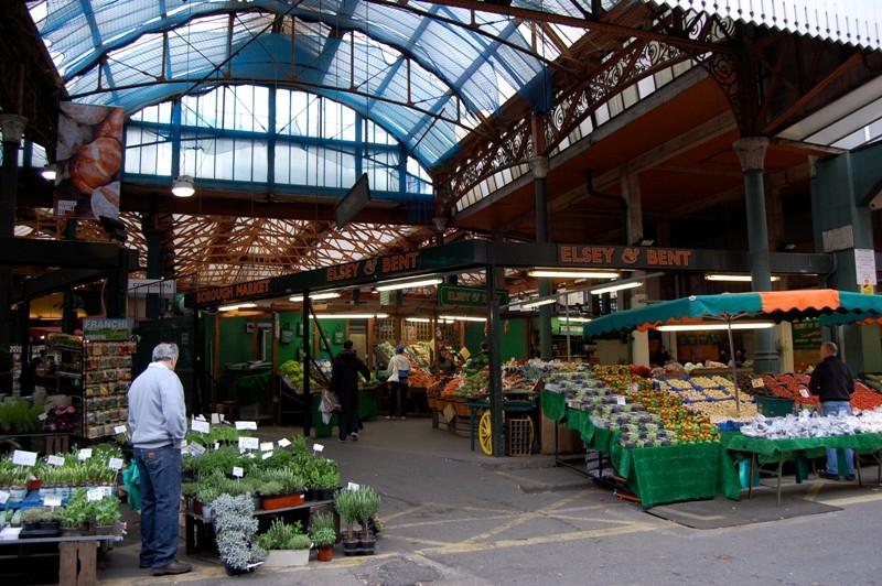 Khu chợ ẩm thực lớn nhất London