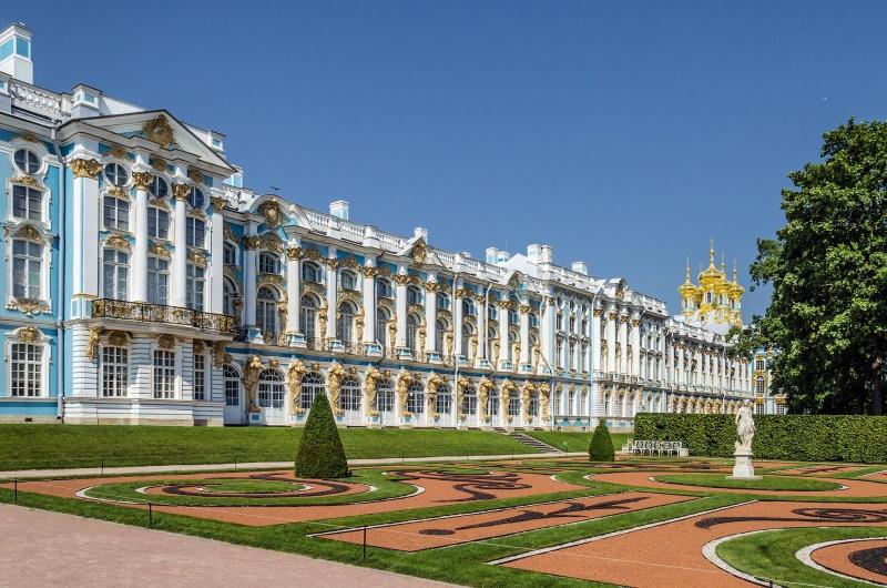 Cung điện Catherine - Nơi xảy ra vụ việc