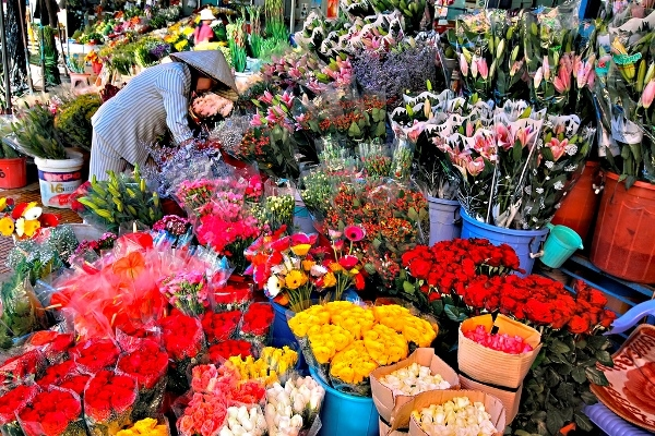 Một góc chợ Đà Lạt