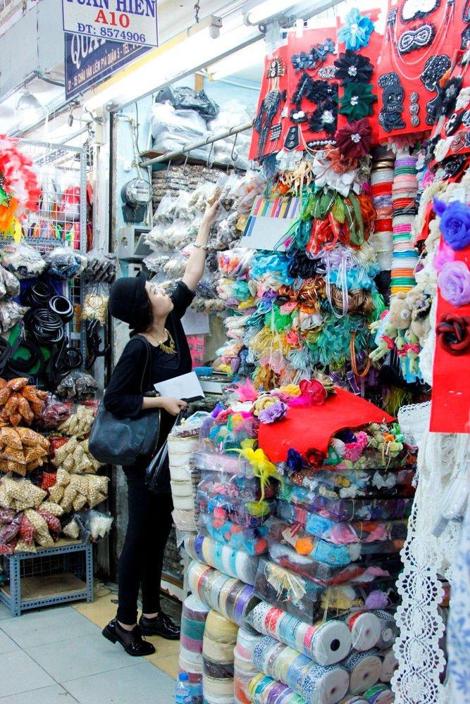 Đồ handmade chợ Đại Quang Minh