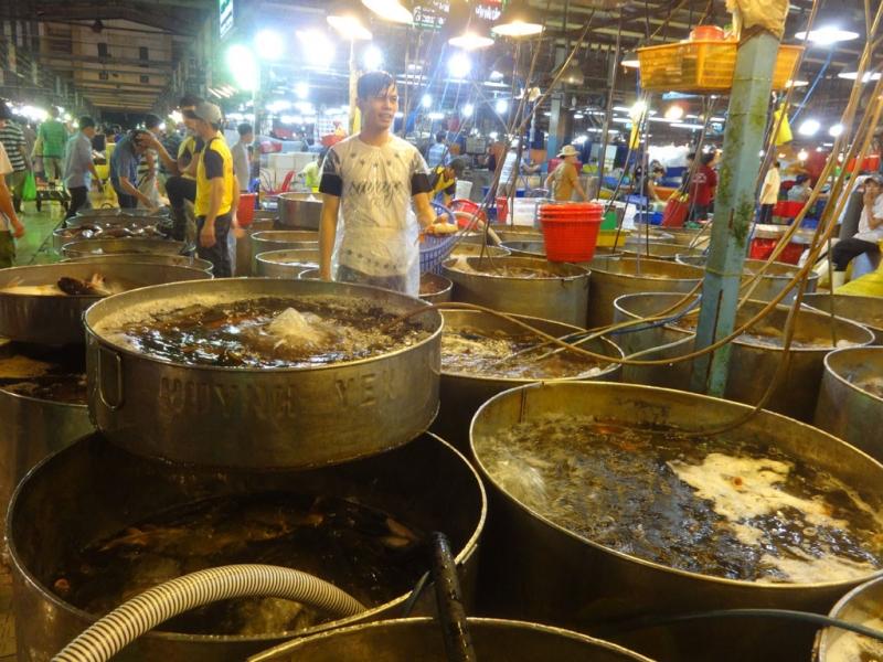 Những loại hải sản ngon nhất được bày bán tại chợ