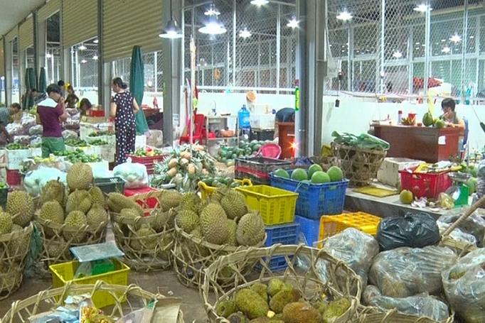 Chợ đầu mối Nông sản thực phẩm Dầu Giây