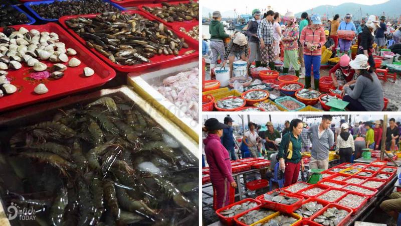 Chợ Đầu mối Thủy sản Thọ Quang