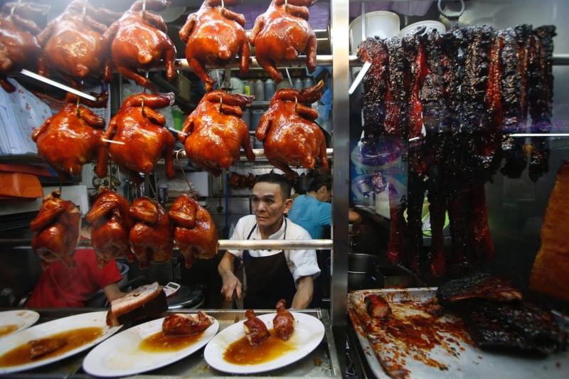 Chợ đêm Chinatown, Singapore