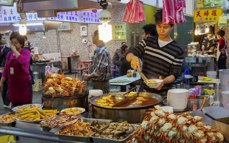 Chợ đêm Miếu Khẩu - thành phố Cơ Long, Đài Loan