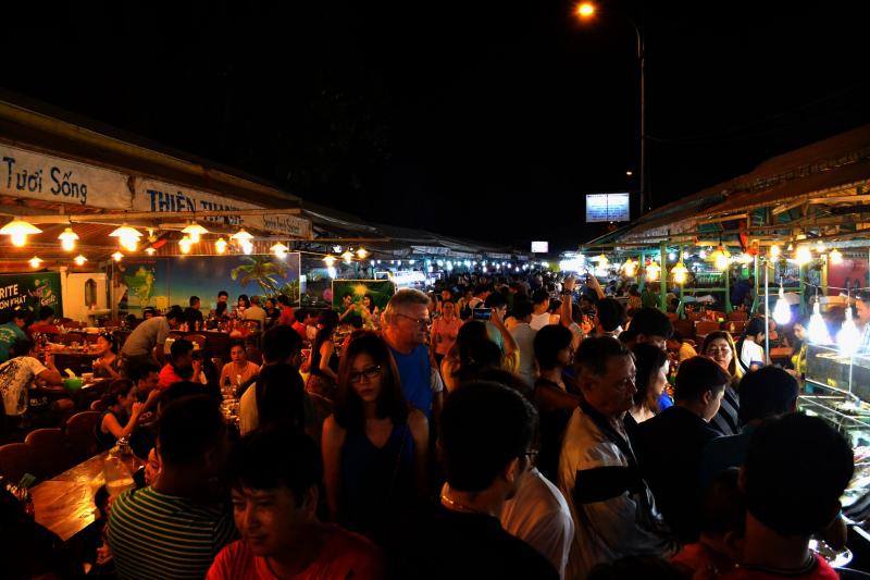 Chợ đêm Minh Khai