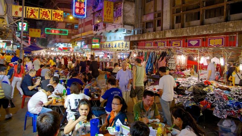 Chợ đêm phố Temple, Hong Kong