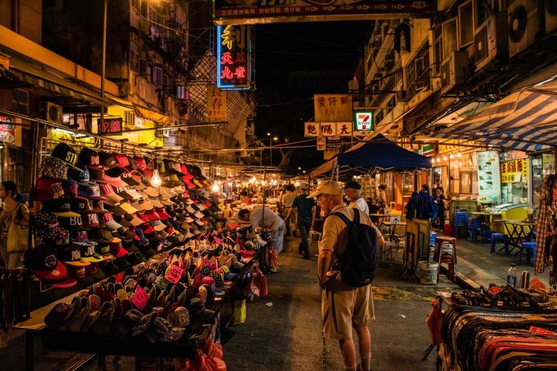 Chợ đêm Temple Street.