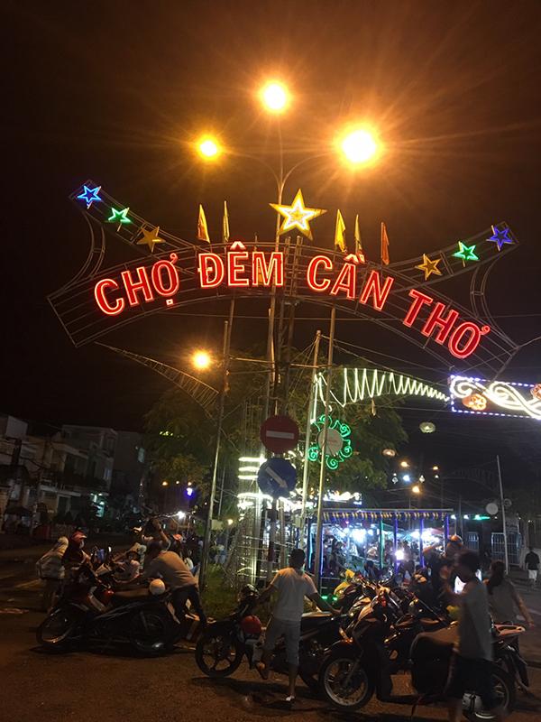 Ẩm thực ở chợ đêm Trần Phú