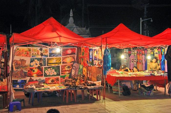 Chợ đêm Viêng Chăn