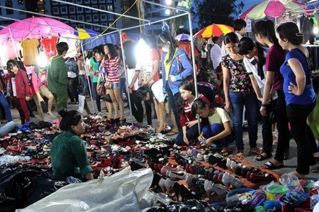 chợ sinh viên Nông Nghiệp Hà Nội