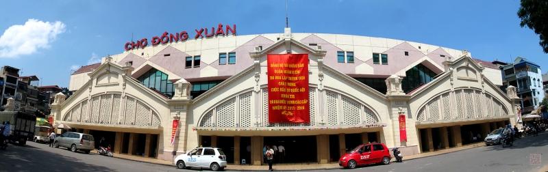 Chợ Đồng Xuân - Khu Phố cổ Hà Nội