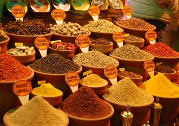 Chợ gia vị Ai Cập Bazaar, Istanbul