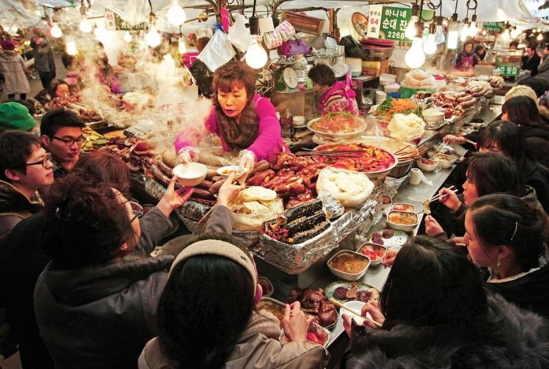 Chợ Gwangjang - Seoul, Hàn Quốc