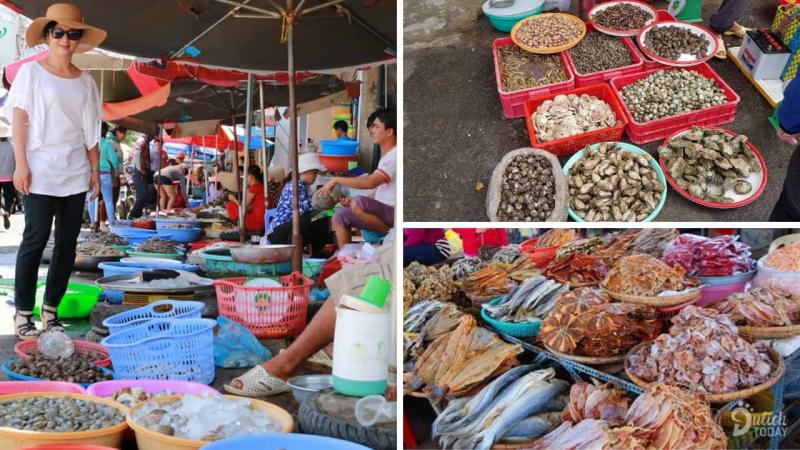 Chợ hải sản Phú Lộc