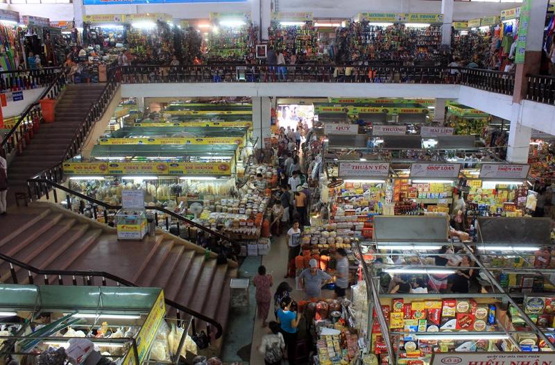 Không gian chợ Hàn
