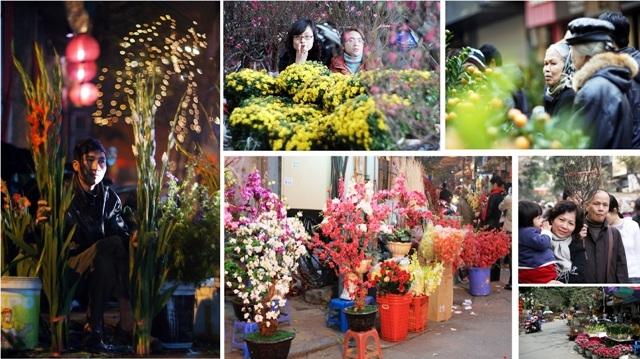 Chợ hoa Hàng Lược ngày cuối năm