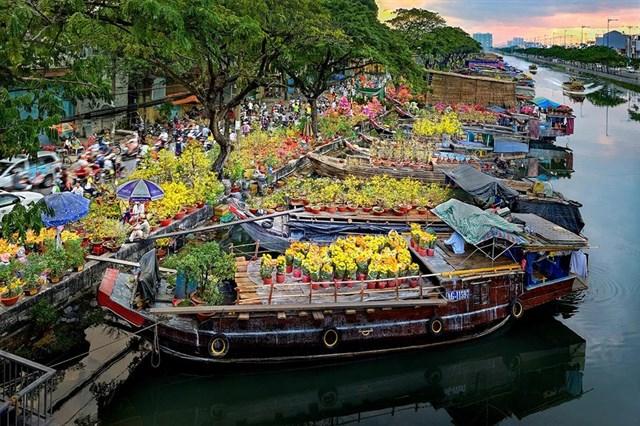 Top 10 chợ hoa Tết lớn nhất miền Tây 2021