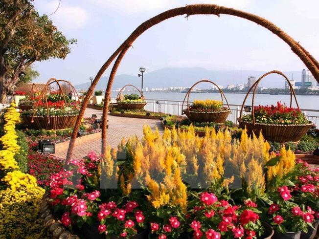 Chợ hoa Tết Đà Nẵng