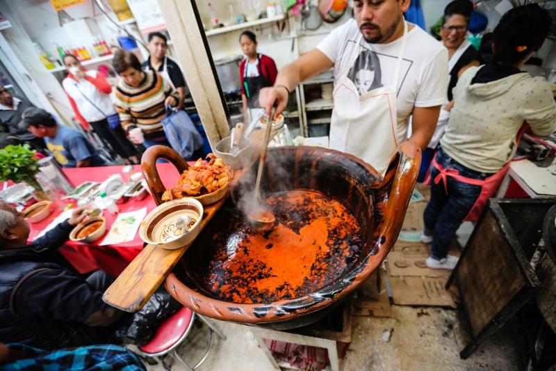 Chợ La Merced, Mexico City