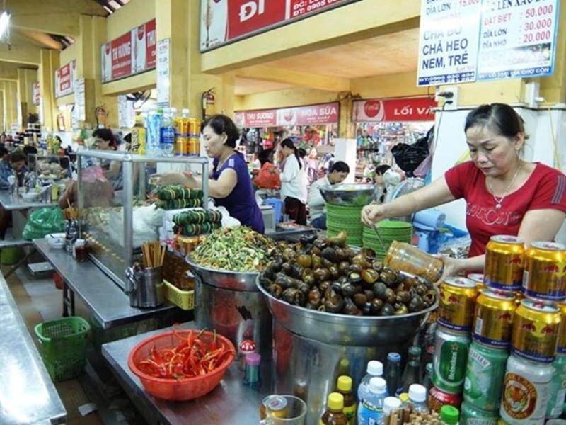 Sản phẩm bán tại chợ Mới