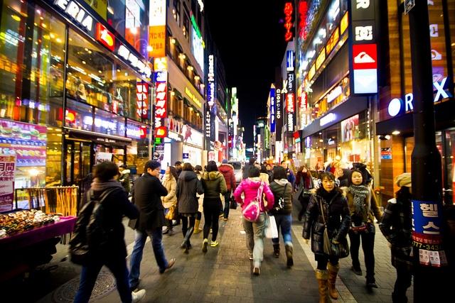 Giá cả ở Myeongdong cao hơn so với những nơi khác