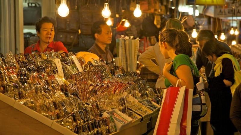 Chợ Namdaemun.