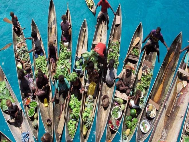 Chợ nổi Inle Lake - Myanma