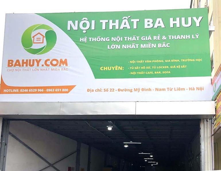 Chợ nội thất Ba Huy