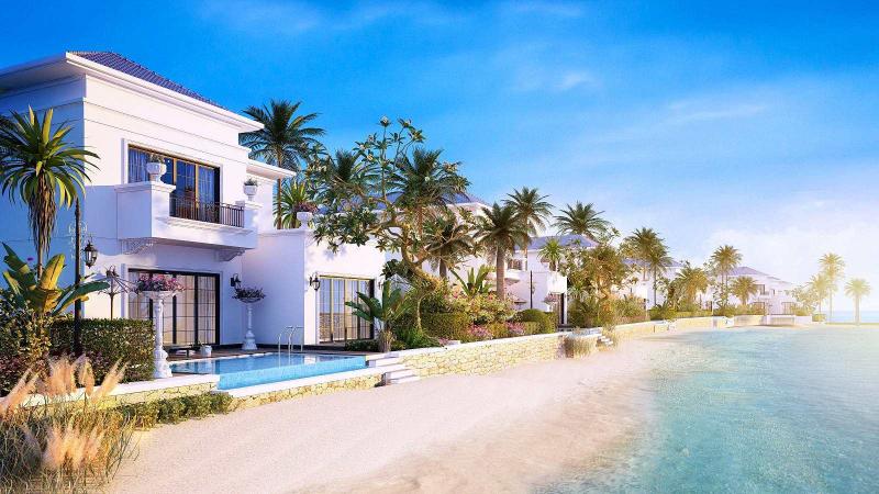 Nhà nghỉ trên đảo Phú Quý.