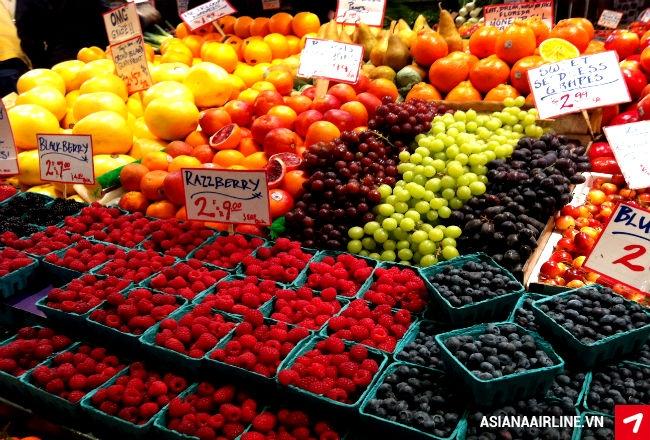 Vô số các loại quả