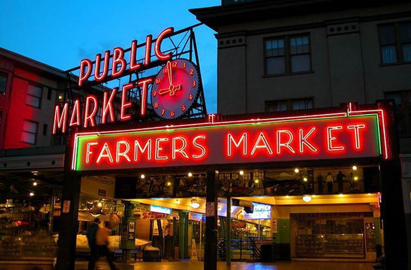 Chợ Pike Place, Seattle