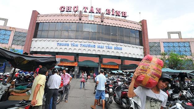 Cổng chợ Tân Bình