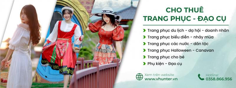 Cho thuê trang phục đạo cụ biểu diễn Vhunter-Thợ Săn Việt