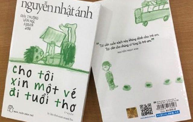 Mặt trước và sau của sách
