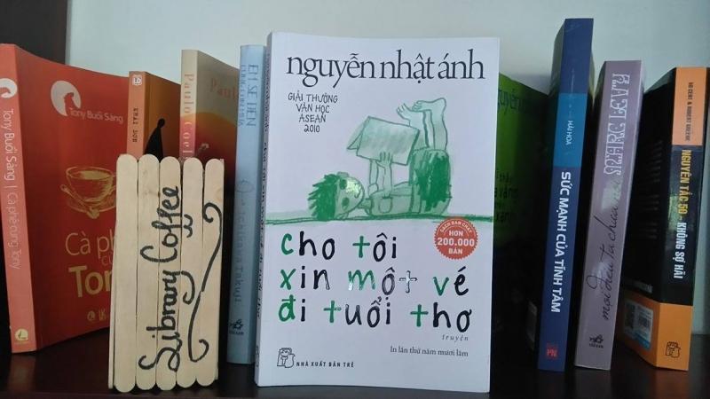 Cho tôi xin một vé đi tuổi thơ - Tác giả Nguyễn Nhật Ánh