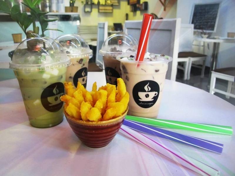 Các loại thức uống của Chococapu được trình bày đẹp mắt và hợp khẩu vị.