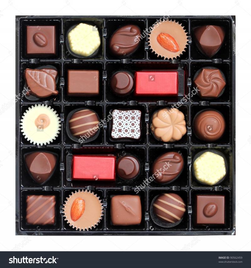 Đa dạng các loại chocolate hỗn hợp cho sự lựa chọn của bạn
