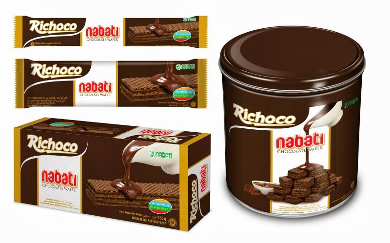 Richoco Nabati Chocolate Wafer đã được bày bán phổ biến trên khắp thị trường Việt Nam