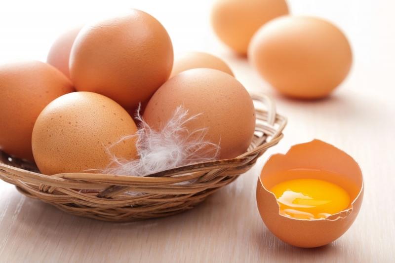 Trứng gà - một thực phẩm dồi dào choline