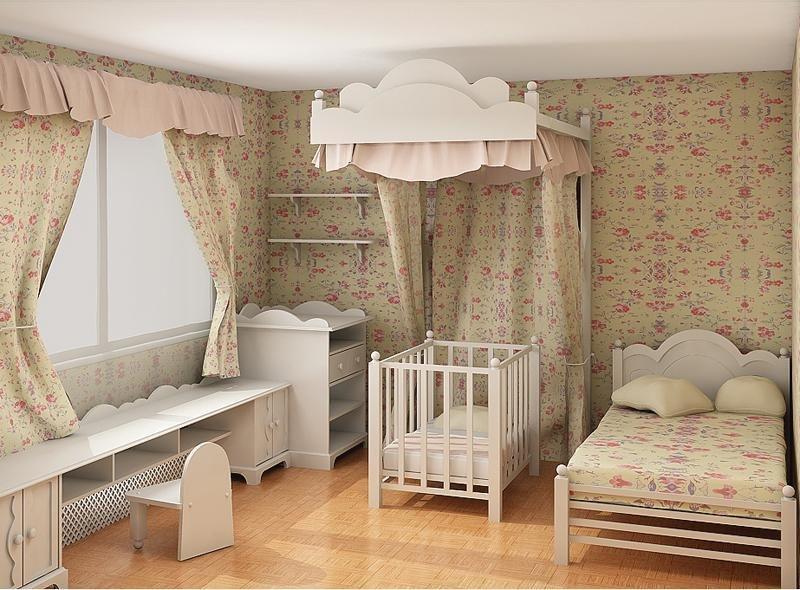 Hướng kê giường ngủ thích hợp cho trẻ
