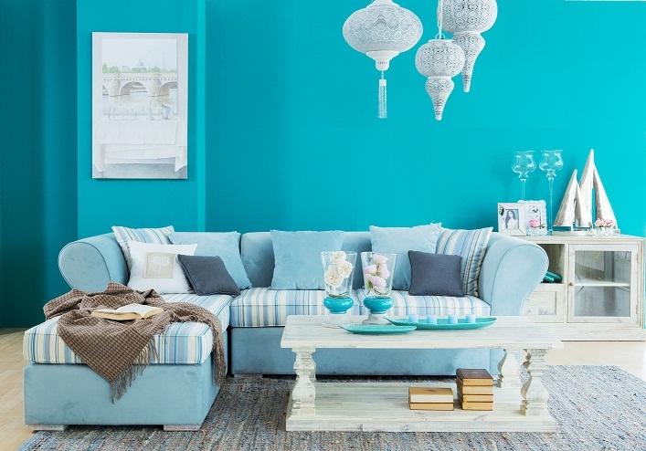 Chọn mọi nội thất theo một tông màu bạn thích, hoặc tông màu lạnh và sáng