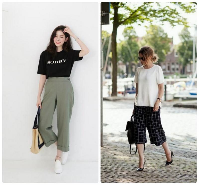 Nên chọn những chiếc quần phù hợp với vóc dáng với chiều dài phù hợp
