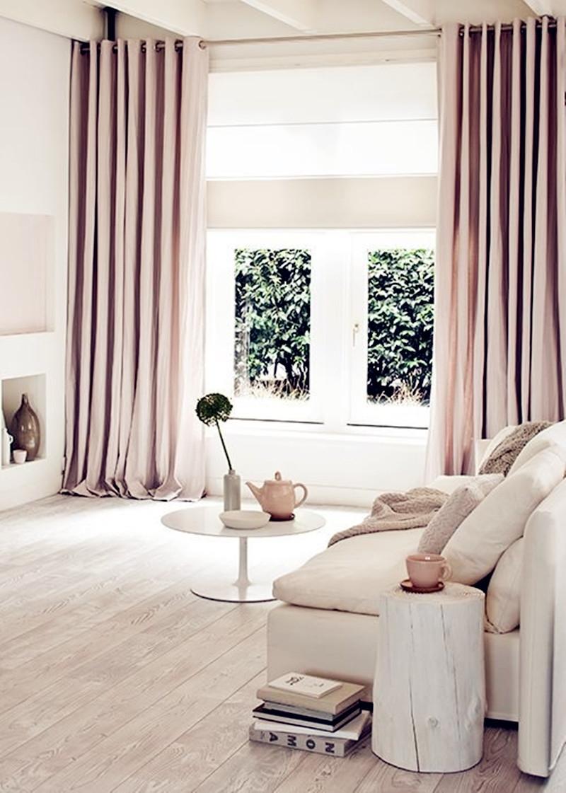 Chọn rèm cùng màu tường